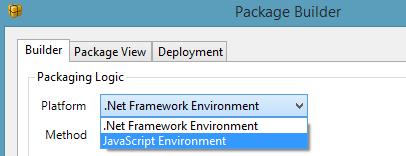 Package-builder-deploy JS BRE