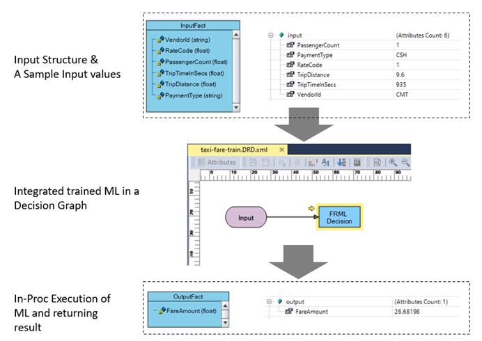 AutoML input output process