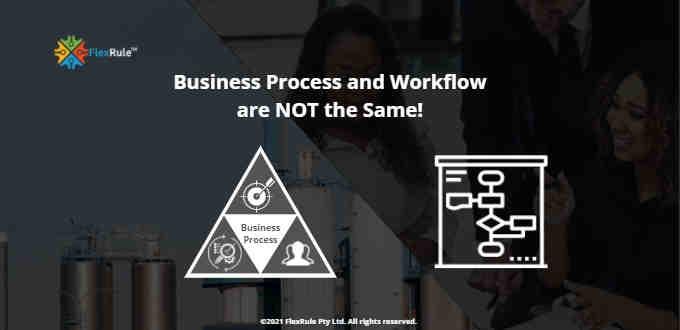 Process vs workflow